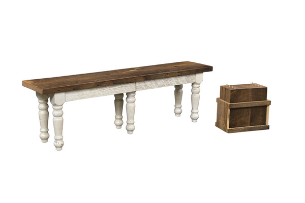 Amish Farmhouse Extend-A-Bench