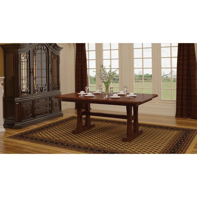 Amish Gateway Trestle Table