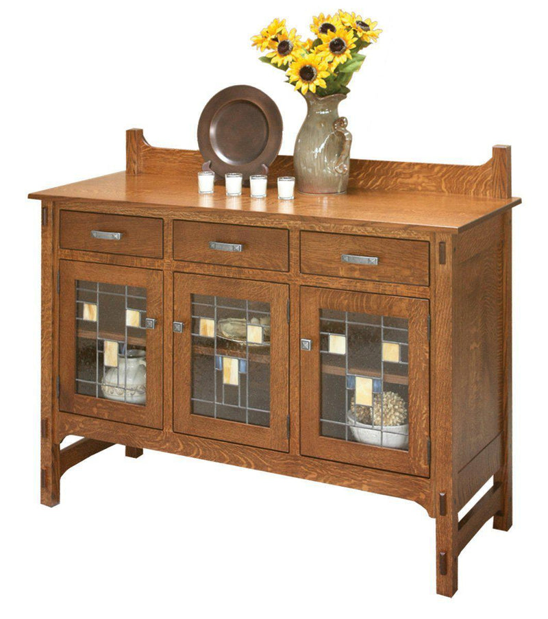 Glenwood Three Door Sideboard-The Amish House