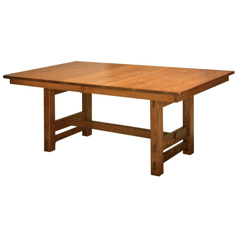Amish Glenwood Trestle Table-The Amish House