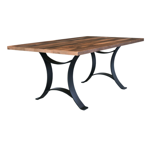 Amish Golden Gate Solid Top Table-The Amish House
