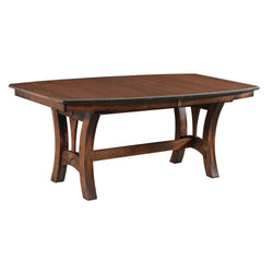 Amish Grand Island Trestle Table-The Amish House