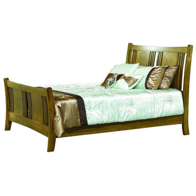 Granville Sleigh Bed-The Amish House