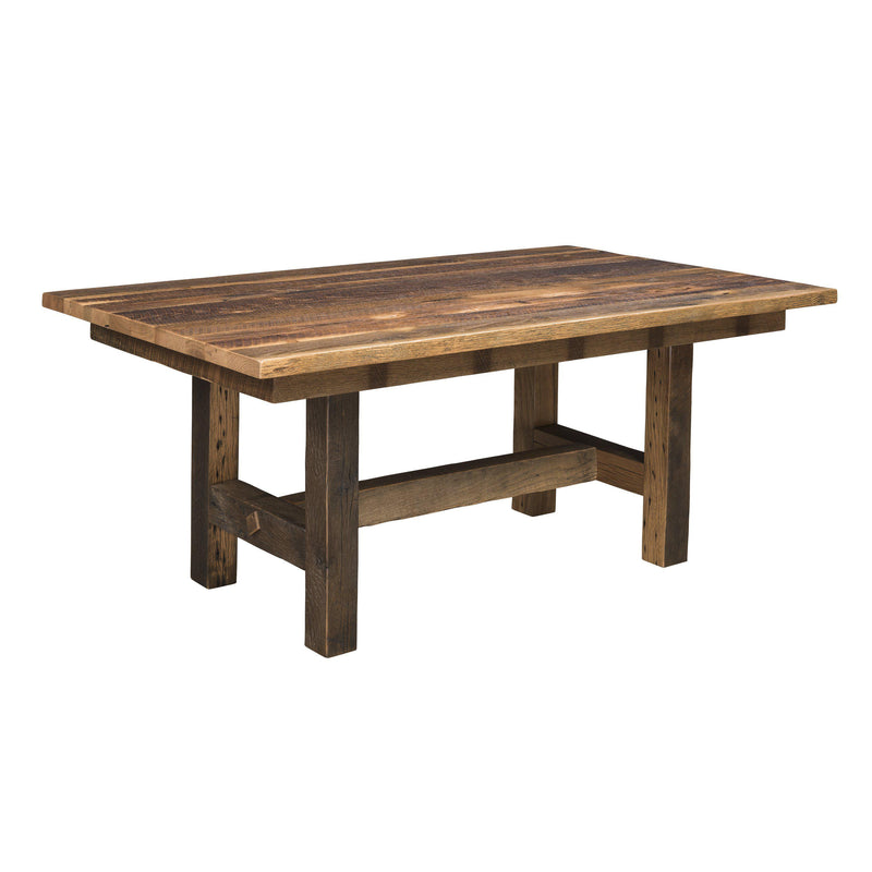 Amish Grove Trestle Table-The Amish House
