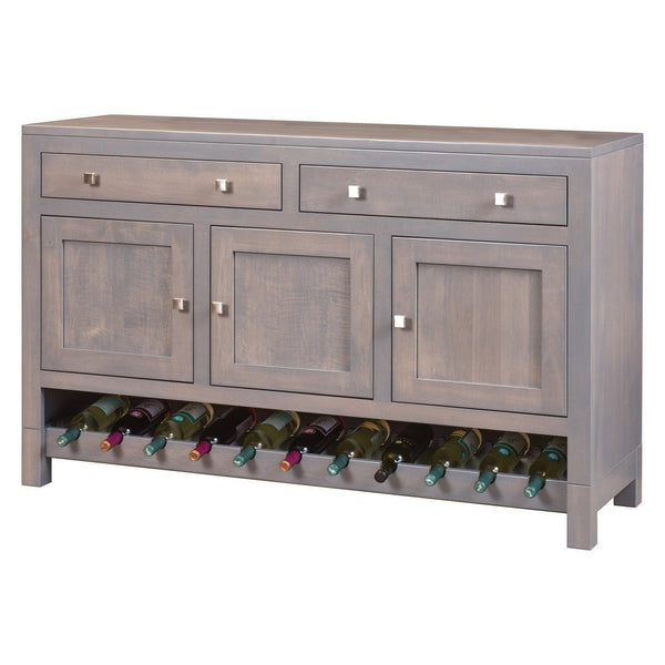 Hampton Buffet with Wine Rack