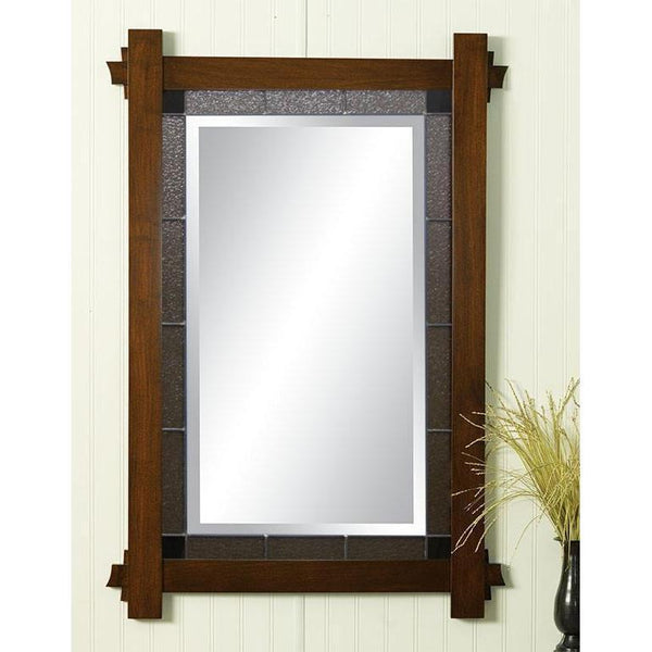 Hartford Leaded Glass Wall Mirror