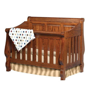Heirloom Convertible Panel Back Crib
