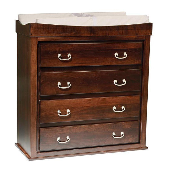 Heirloom Four Drawer Convertible Changing Table