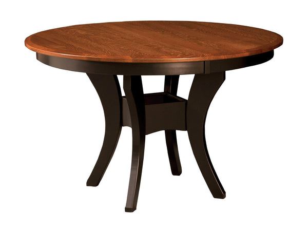 Imperial Single Pedestal Table-The Amish House