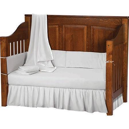 Jackson Convertible Panel Back Crib-Children-The Amish House