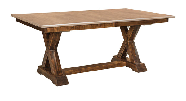 Knoxville Trestle Table-The Amish House