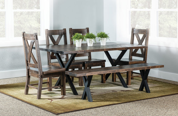 Amish LaCosta Trestle Table