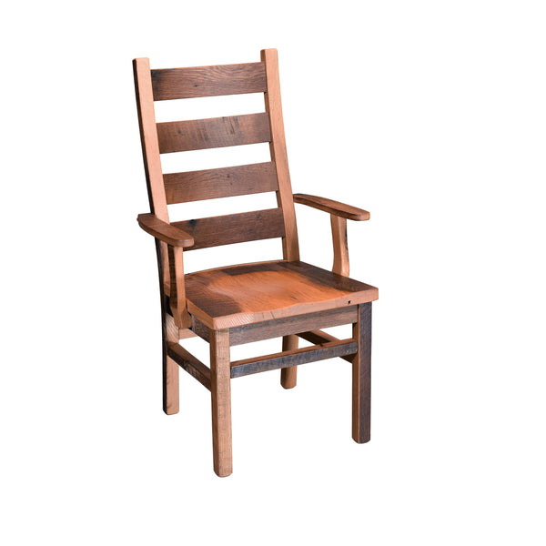 Ladderback Arm Chair-The Amish House