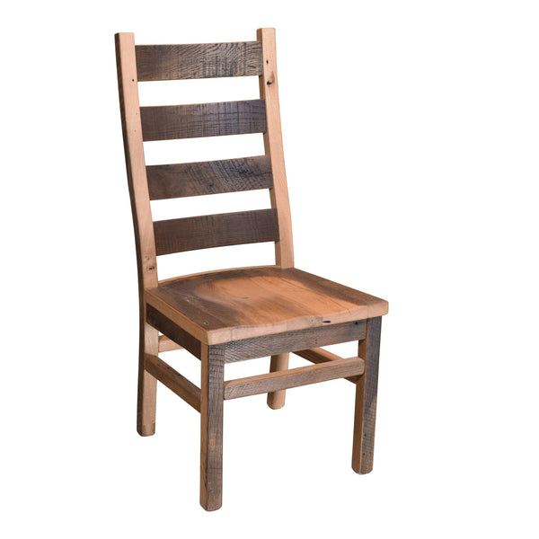 Ladderback Side Chair-The Amish House