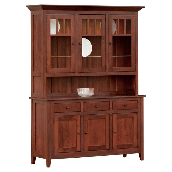 Larkspur Rustic Three Door Hutch