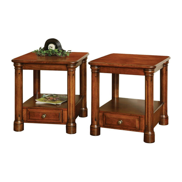 Jefferson Series End Table-Living-The Amish House