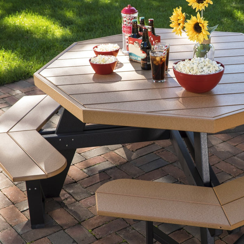 Luxcraft PolyTuf Octagon Picnic Table