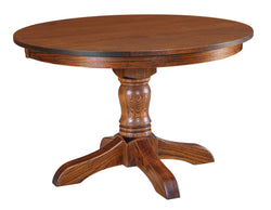 Mckenzie-Single-Pedestal- Table-The Amish House