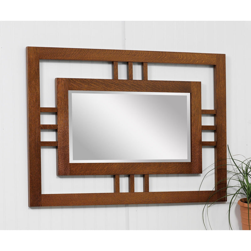 Modern Mission Wall Mirror
