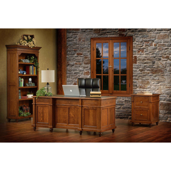 Bridgeport Bookcase-Office-The Amish House