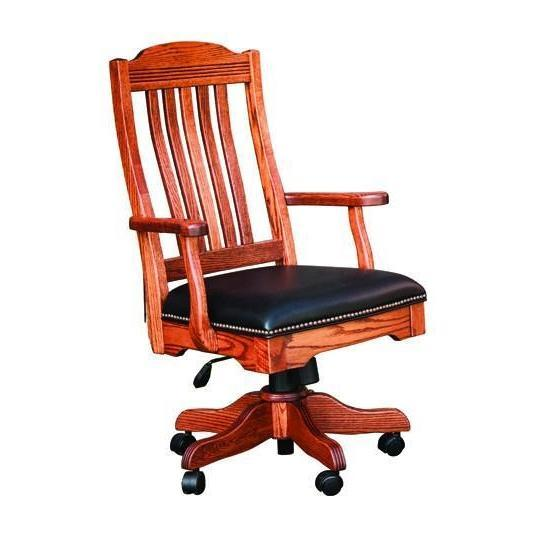 Royal Desk Arm Chair (with gas lift)