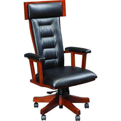 London Arm Desk Chair (with gas lift)