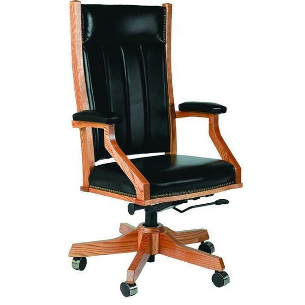 Mission Arm Desk Chair (with gas lift)