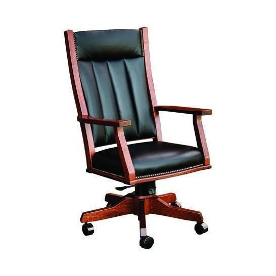 Mission Office  Arm Chair (with gas lift)