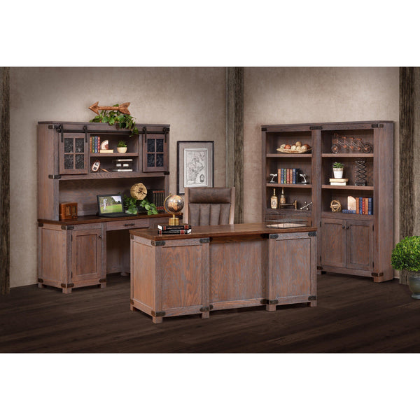 Georgetown Credenza & Hutch-Office-The Amish House