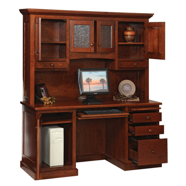 Homestead Credenza & Hutch-Office-The Amish House