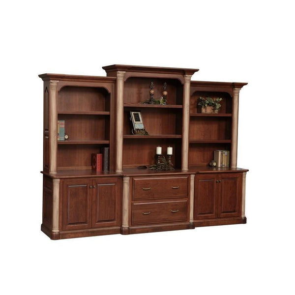 Jefferson XL Credenza & Hutch
