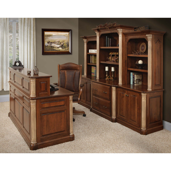 Jefferson 98 Credenza & Hutch-Office-The Amish House
