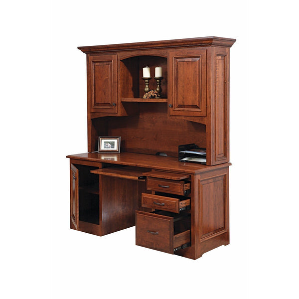 Liberty Credenza & Hutch-Office-The Amish House