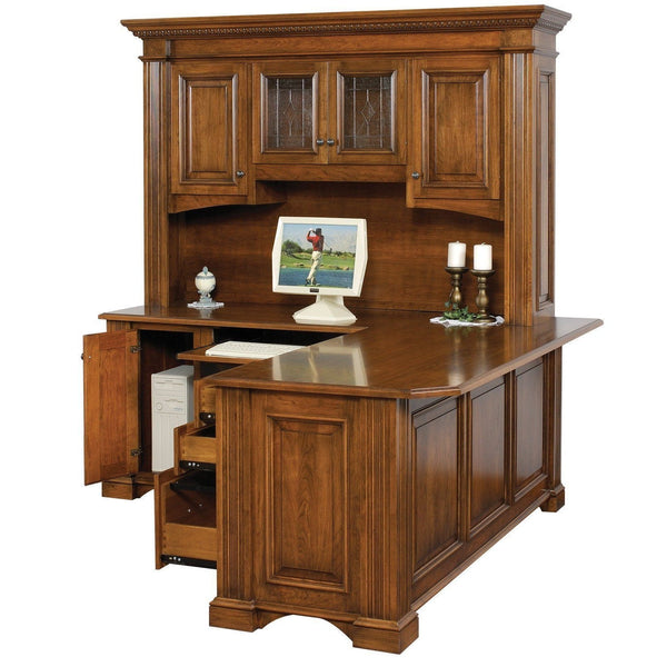 Lincoln Corner Desk-Office-The Amish House