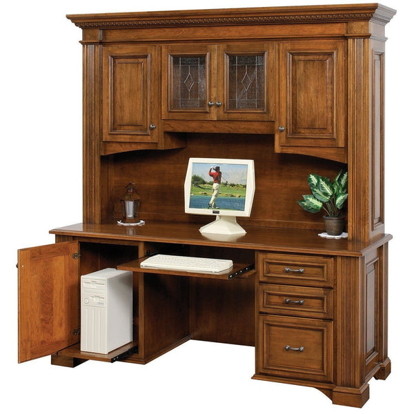 Lincoln Credenza & Hutch-Office-The Amish House