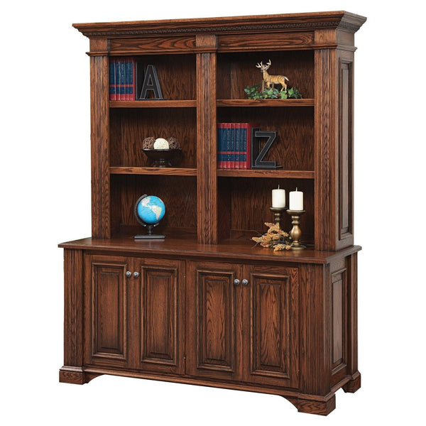 Lincoln Double Door Credenza Bookcase