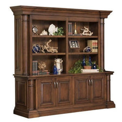 Paris Double Bookcase & Credenza