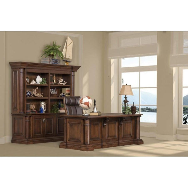 Paris Double Bookcase & Credenza-Office-The Amish House