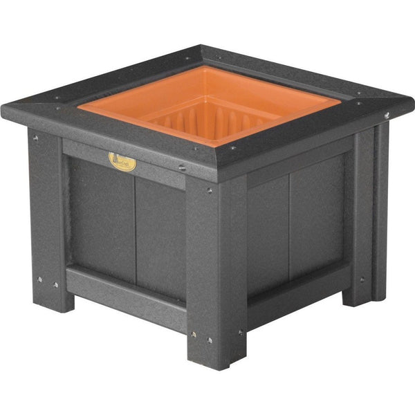 "Outdoor 15"" Planter Black"