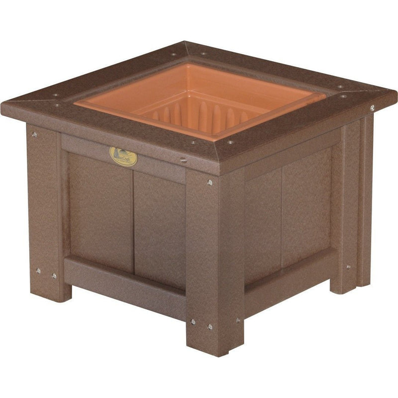 "Outdoor 15"" Planter Chestnut Brown"