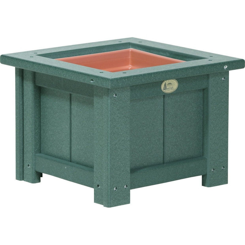 "Outdoor 15"" Planter Green"