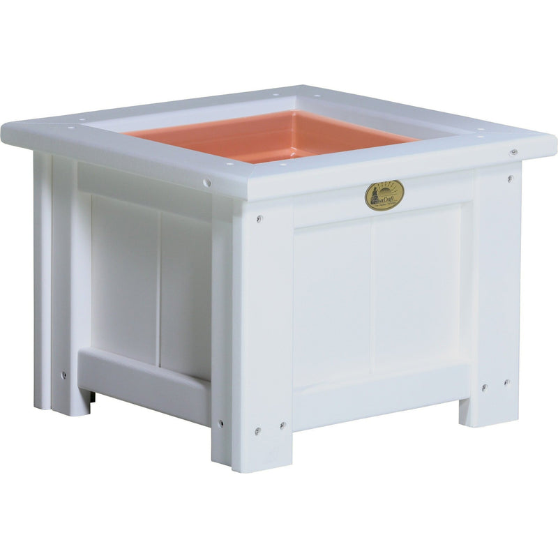 "Outdoor 15"" Planter White"