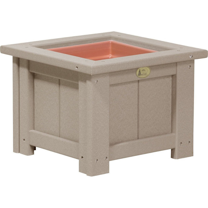 "Outdoor 15"" Planter Weatherwood"