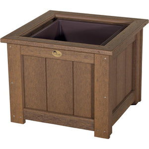 "Outdoor 24"" Planter Antique Mahogany"