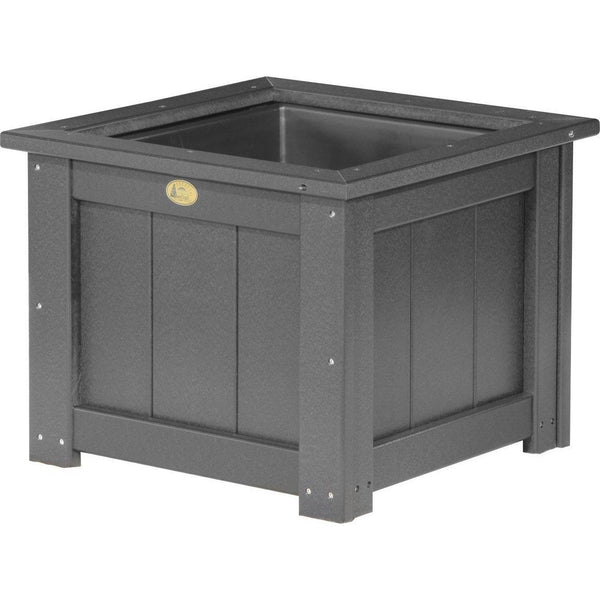 "Outdoor 24"" Planter Black"