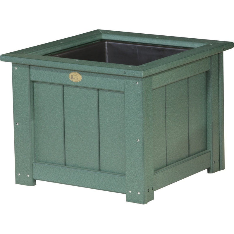 "Outdoor 24"" Planter Green"