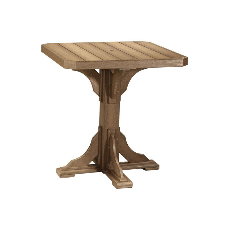 "Luxcraft PolyTuf 41"" Square Dining Table"