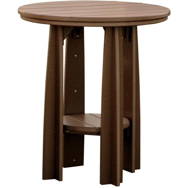 "Outdoor 36"" Balcony Table Chestnut Brown"