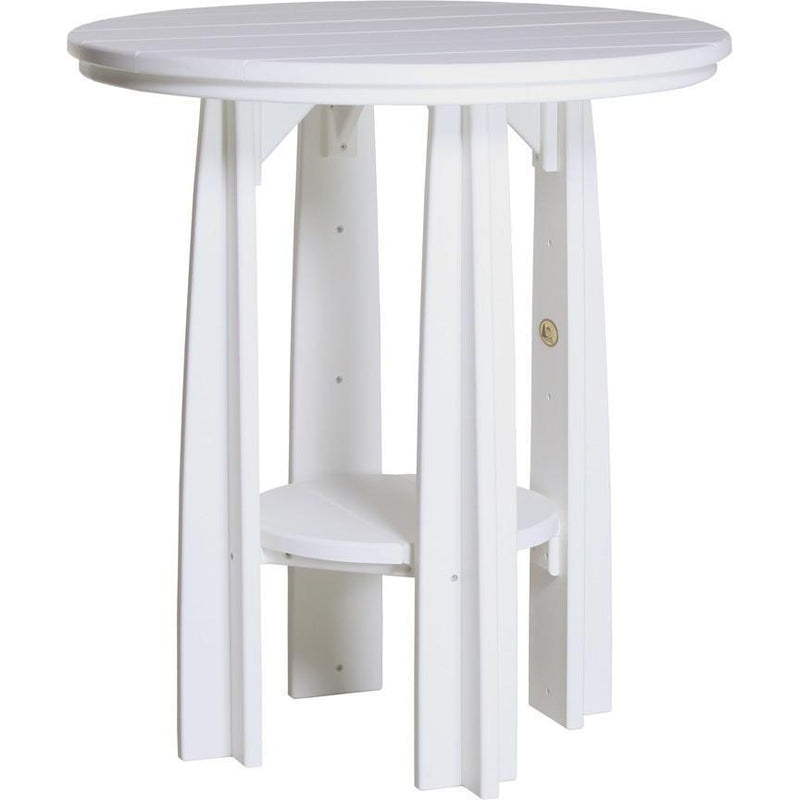 "Outdoor 36"" Balcony Table White"