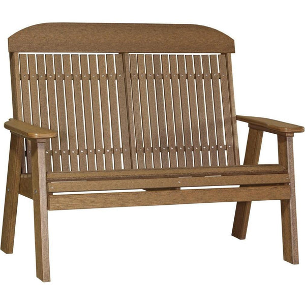 Classic Outdoor 4' Bench Antique Mahogany